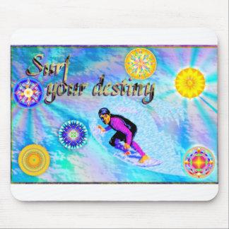 Surf Your Destiny Mouse Pad