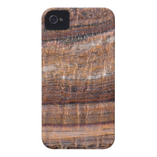 Surface of carbonate rock with weathering traces iPhone 4 case