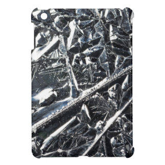 Surface of pure silicon crystals case for the iPad mini