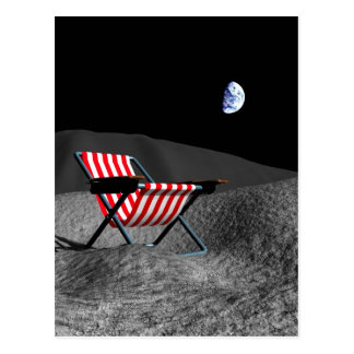 Surface of the Moon Postcard