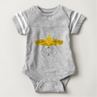 Surface Warfare Officer with Basic Jump Wings Baby Bodysuit
