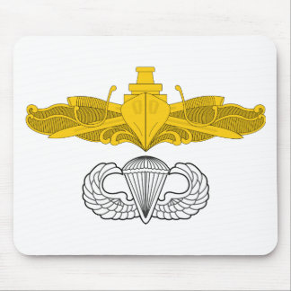 Surface Warfare Officer with Basic Jump Wings Mouse Pad