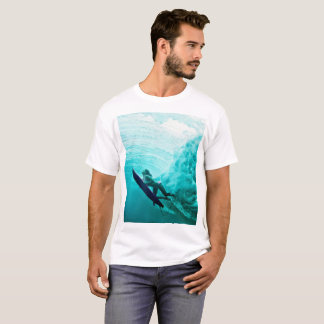 surfboard and is T-Shirt