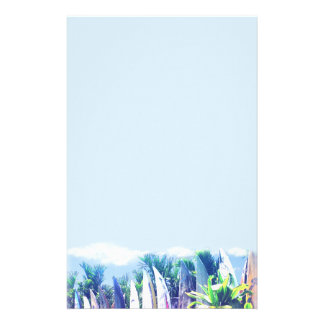 Surfboard Fence Stationery