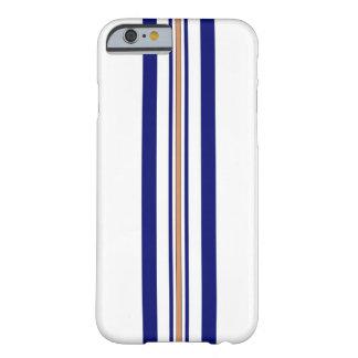 Surfboard iPhone 6 case - Blue Stripes