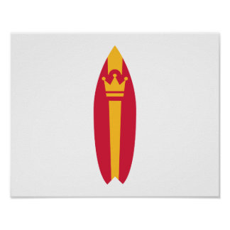 Surfboard Posters