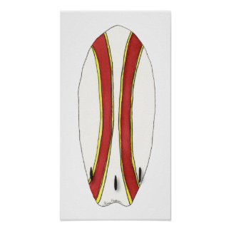 Surfboard Posters & Prints