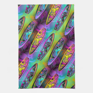 Surfboards 2A-2D Options Kitchen Towels