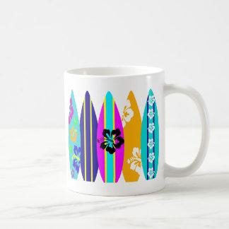 Surfboards Basic White Mug