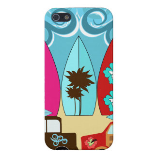 Surfboards Beach Bum Surfing Hippie Vans Cover For iPhone 5