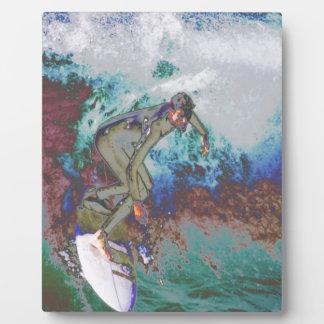 Surfer3 Display Plaque