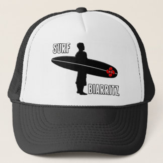 Surfer Biarritz Basque Trucker Hat