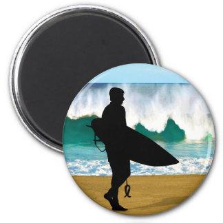 Surfer by Crashing Tube Magnet