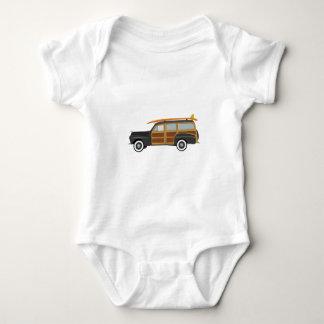 Surfer Car Baby Bodysuit