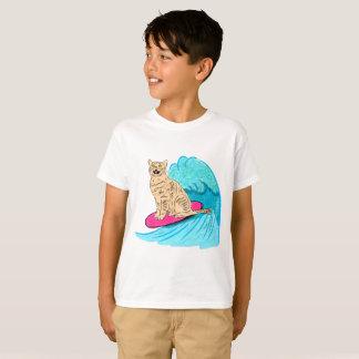 Surfer Cat T-Shirt
