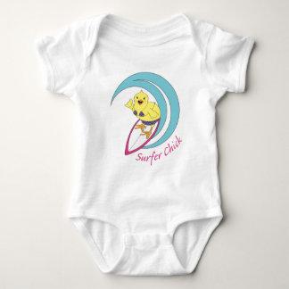 Surfer Chick Baby Bodysuit