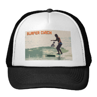 Surfer Chick Mesh Hats