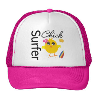 Surfer Chick Mesh Hats