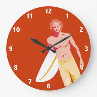 Surfer Clock