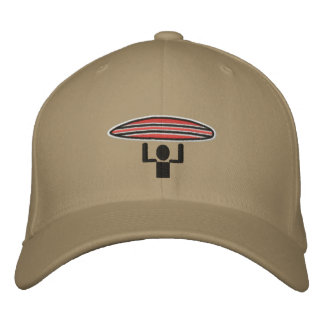 Surfer Crossing lid Embroidered Hat
