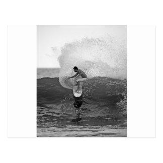 Surfer Dane Reynolds surfing El Salvador Postcard