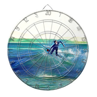 Surfer Dartboard