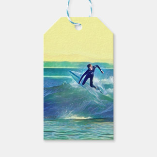 Surfer Gift Tags