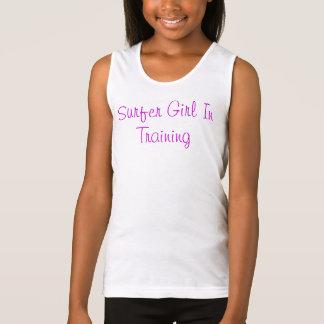 Surfer Girl In Training Singlet