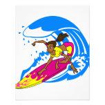 Surfer Girl Invitation