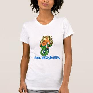 Surfer Girl Mermaid Shirt
