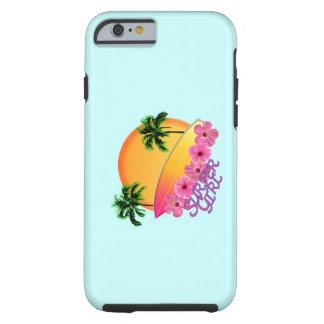 Surfer Girl Tough iPhone 6 Case