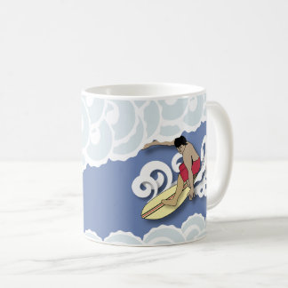 Surfer in a Barrel Coffee Mug