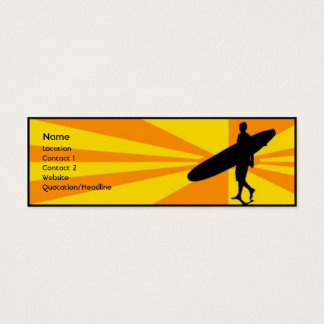 Surfer Mini Business Card
