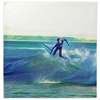Surfer Napkin