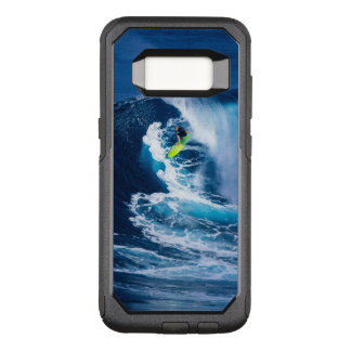 Surfer on Green Surfboard OtterBox Commuter Samsung Galaxy S8 Case