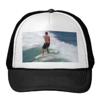 Surfer On Waves Mesh Hats
