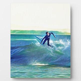 Surfer Plaque