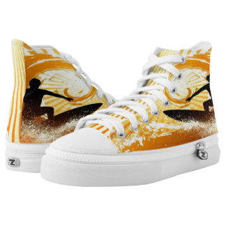 Surfer Printed Shoes