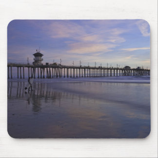 Surfer reflecting mouse pad