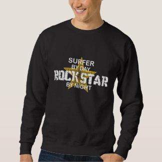 Surfer Rock Star by Night Sweatshirt