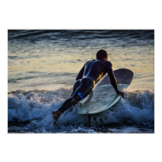 Surfer Series - Spash! Poster