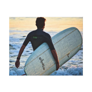 Surfer Series - Surfer Energy Canvas Print