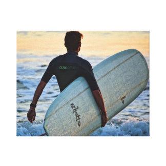 Surfer Series - Surfer Energy Canvas Print