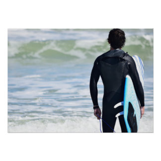 Surfer Series - Surfer Ocean Poster