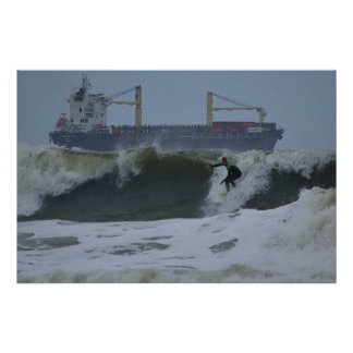 Surfer Series - Surfer Shipped Poster