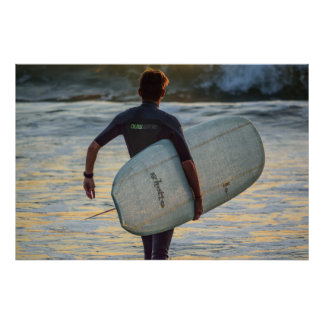 Surfer Series - The Dramatic Hero Poster