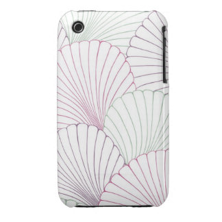 """Surfer Shells"" iPhone 3 Case"
