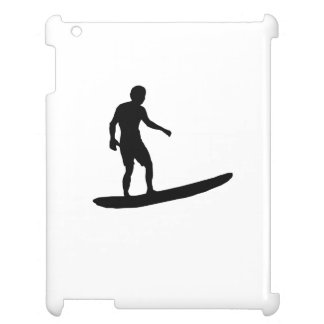 Surfer Silhouette iPad Cases