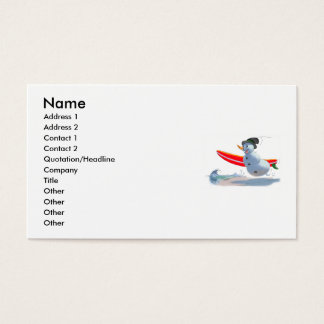sUrFeR sNoWmAn Business Card