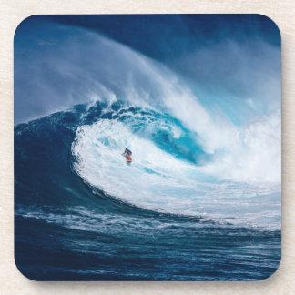 Surfer Surfing Ocean Wave Watersport Coasters